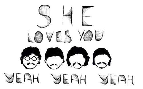 Yeah Yeah Yeah Love This Song Beatles Letras Frases