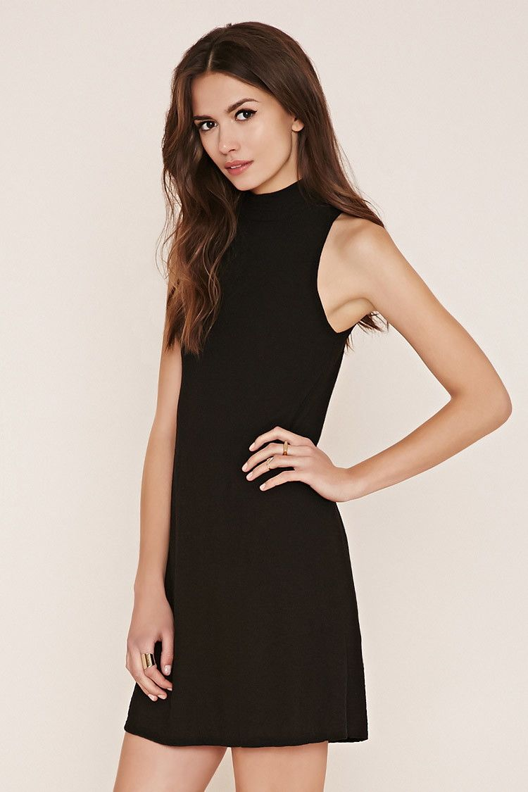 Modern dress lookup - Contemporary Mock Neck Dress Forever 21 2000187070