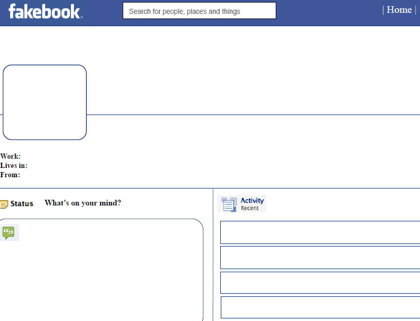 7 amazing facebook templates to use in the classroom ~ teachers, Powerpoint templates
