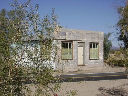 Mojave Desert - Kelso ghost town, CA