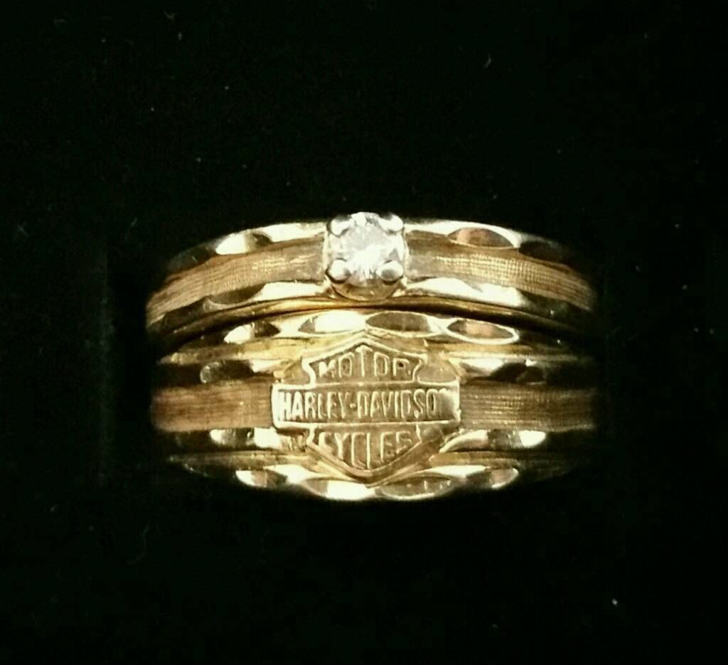 It is a photo of √ HARLEY DAVIDSON WEDDING RING SETS, FRESH HARLEY DAVIDSON