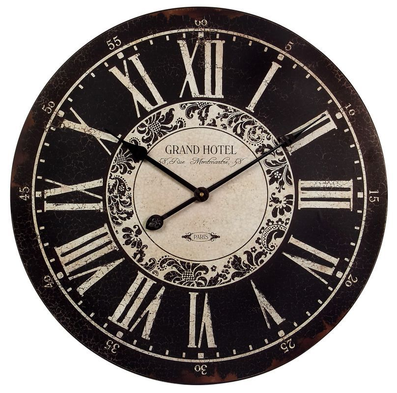 Imax Home 16051 Large Wall Clock Wall Clock White Wall Clocks