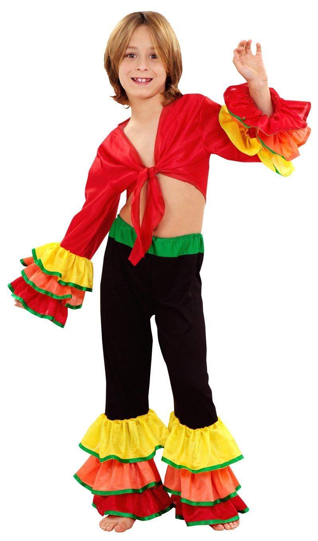 Disfraz de Rumbero Salsa Niño Disponible en varias tallas (3-4 años)(5-6  años)(7-9 años)(10-12 años) Amazon - ef98248599fe