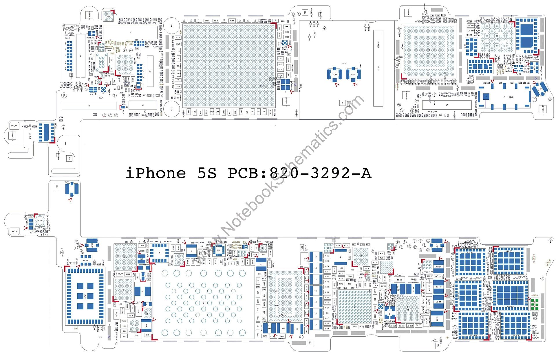 small resolution of schematic iphone 5s zen diagram