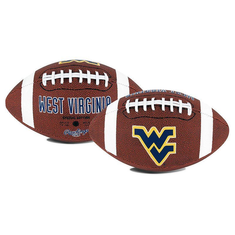 Rawlings West Virginia Mountaineers Game Time Football, Blue