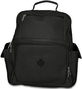 Pangea Toronto Maple Leafs Premium Leather Backpack - Shop.Canada ...