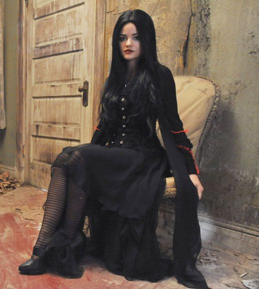 pretty little liars halloween costumes lucy hale the first - The First Halloween Costumes