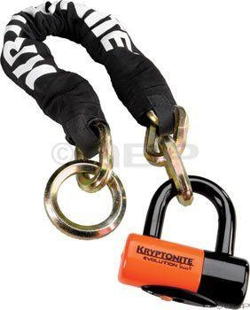 Kryptonite New York Noose 1275 Chain Bicycle Lock With Evolution