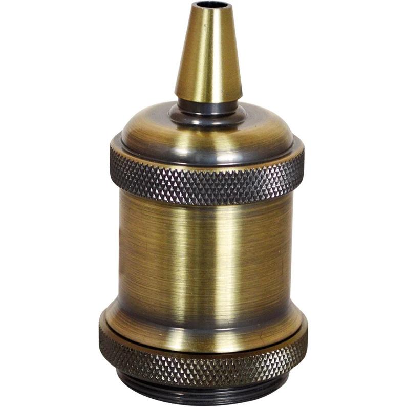 Douille E27 Filetage Metal Bronze Tibelec Leroy Merlin Douille E27 Douille Filetage