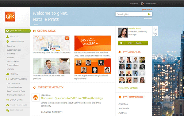 High Quality Immediate Media Intranet Homepage. Designing A Great Sharepoint Online  Intranet In Office My Beautiful Intranet Goes Socialthe Entriesdigital.  Intranet ...