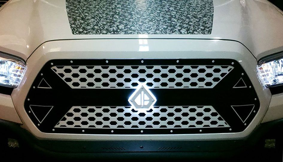 Db Customz 2016 2019 Tacoma Drop In Grille Insert V3 Grille