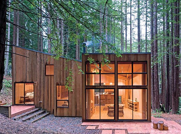 unusual cheap cabin ideas. Sea Ranch Cabin situated in the redwood forest  California by Berkeley based Frank Architects Pin Maria Smith on My Favorite Tiny Houses Pinterest Modern