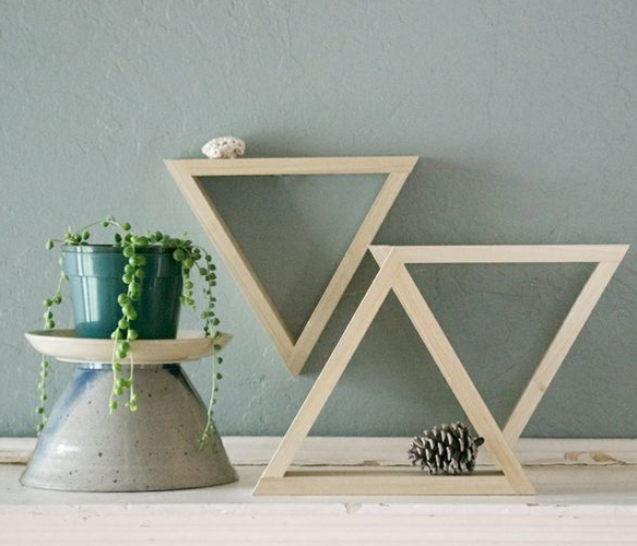 "Set of 8"" Decorative Triangles - Uncovet.com"