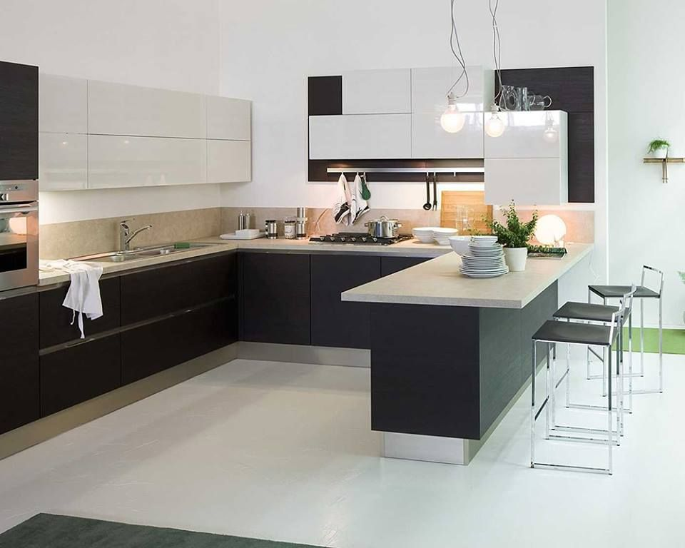 Modular #kitchen #3D #design #painting #services #interior Cool Kitchen 3D Design 2018