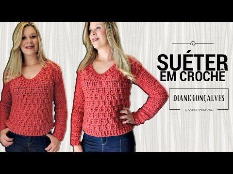 Tutorial Jersey Fácil y Rápido - Granny Stripes Ganchillo   Crochet - YouTube