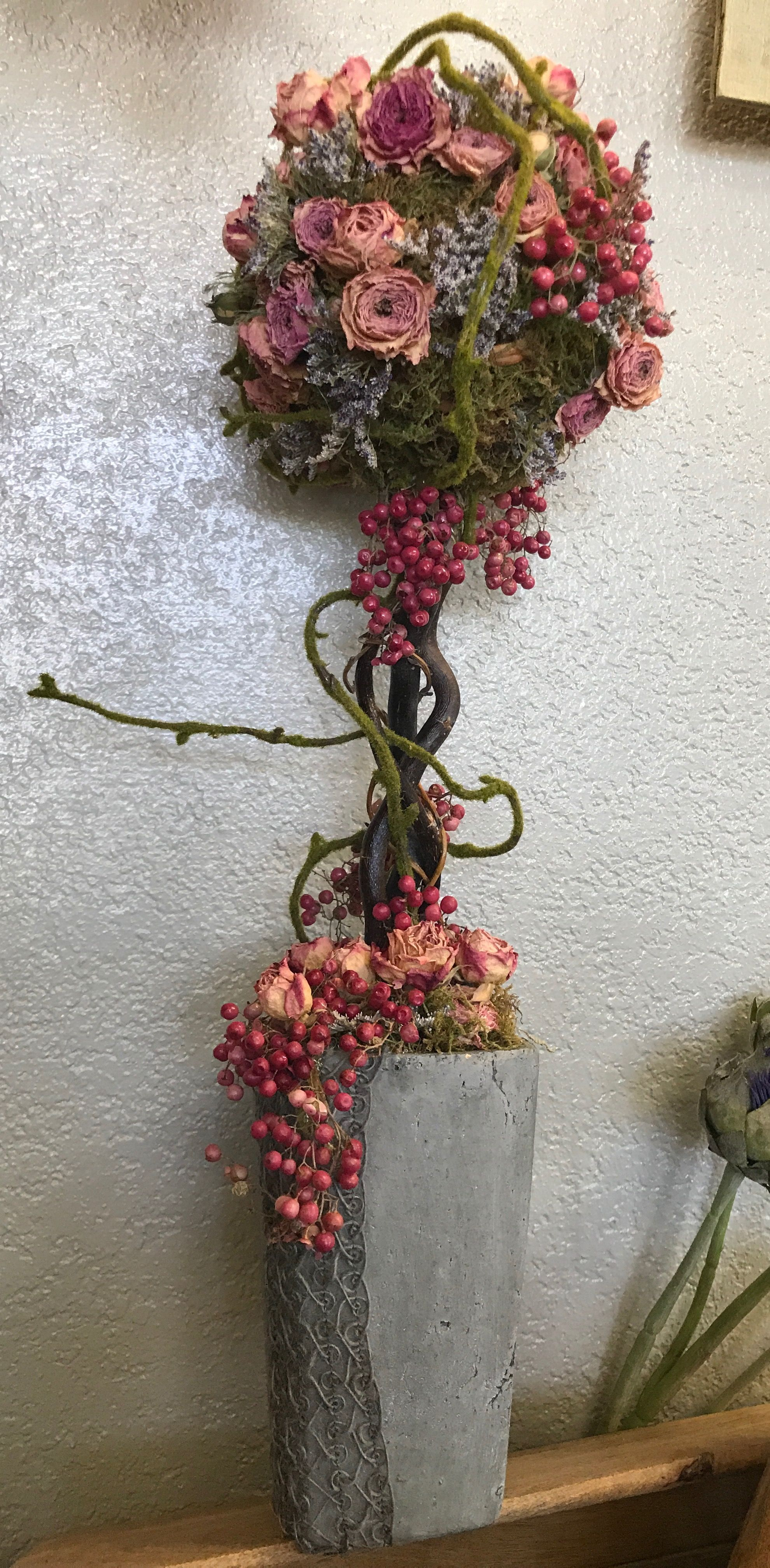 Pin On Our Dried Flower Arrangements
