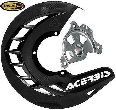 Disc Brake Plastic Guard Black for Kawasaki Kx 250f 450 2006-2012 Kx250f Kx450
