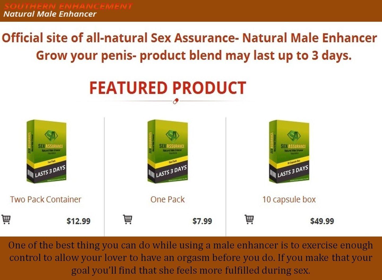 Top Male Enhancement Products Sex Assurance