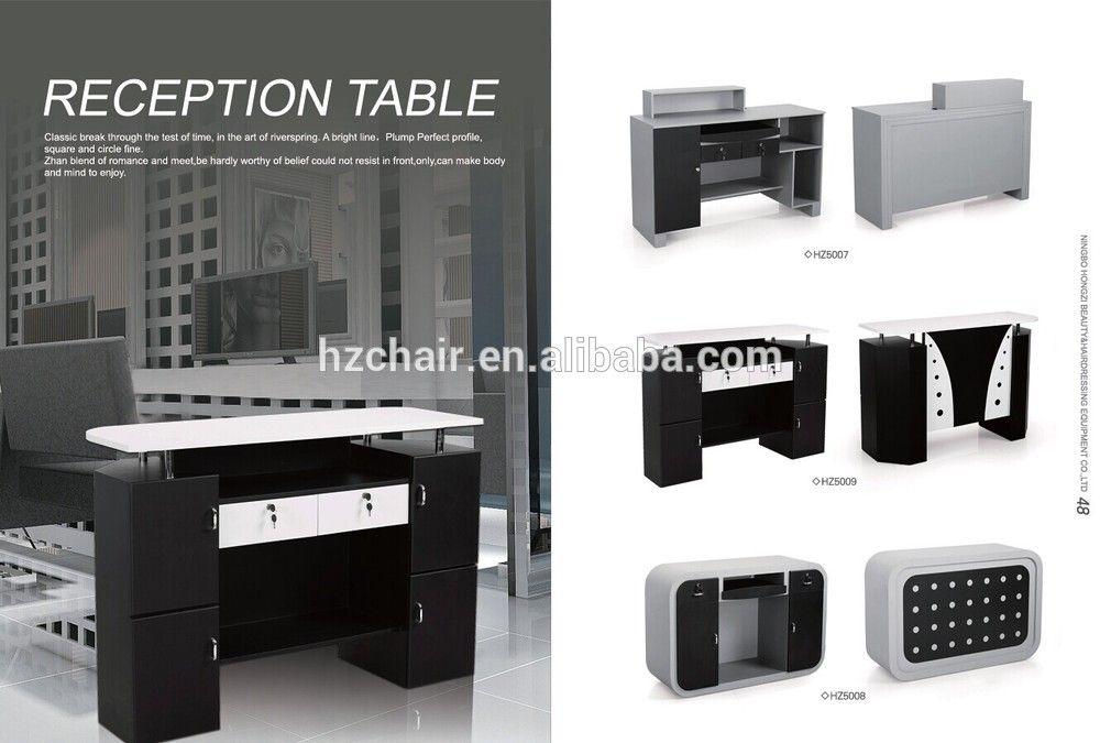 Image Result For Black And White Reception Desks