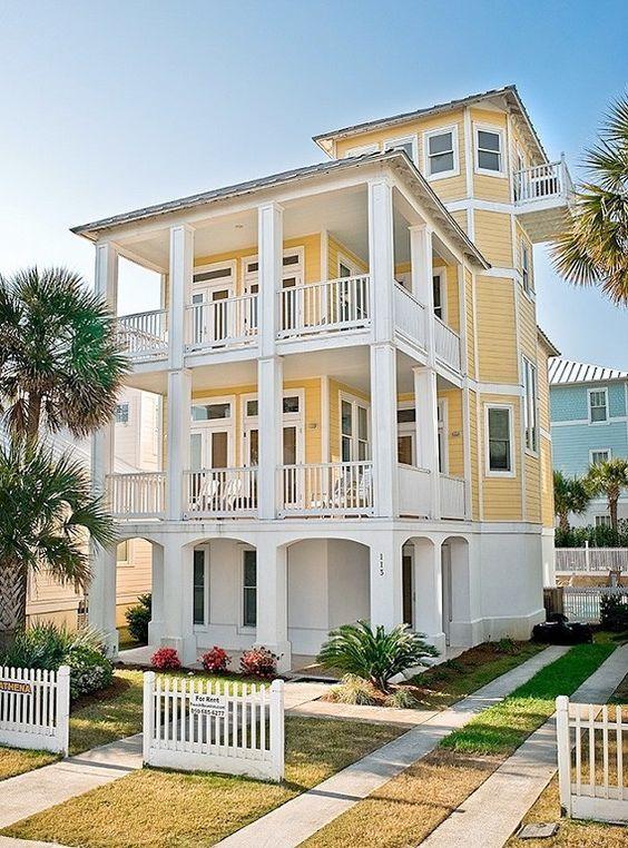 House Building Florida Beach