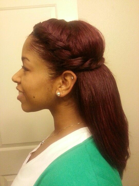 two strand twist-braid natural