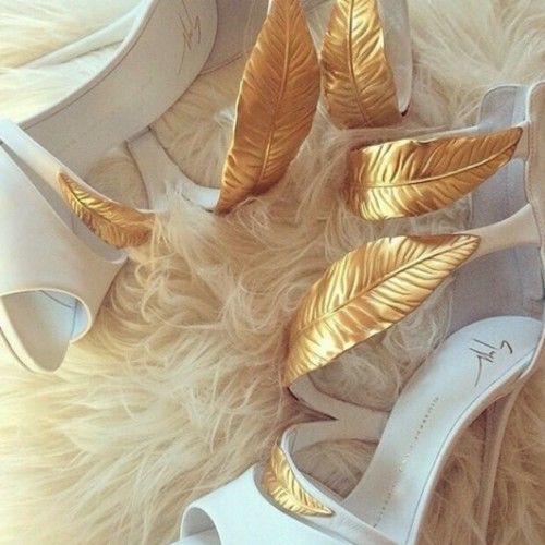 yslexperience on Instagram #fur YSL white stiletto | shoes and ...