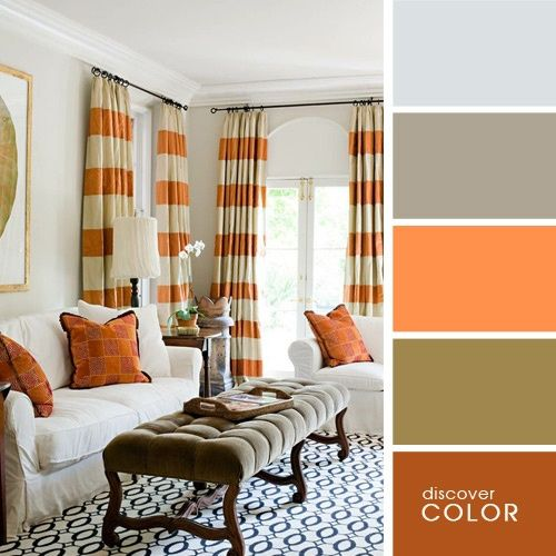 20 perfectas combinaciones de colores para tu dormitorio - Paleta de colores para paredes interiores ...
