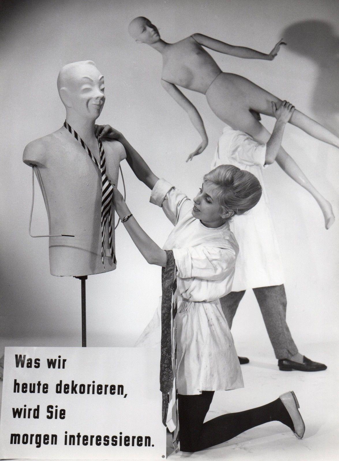 Dewag Werbefoto Foto Fotografie Mode Schaufenster DDR 50er Jahre GDR
