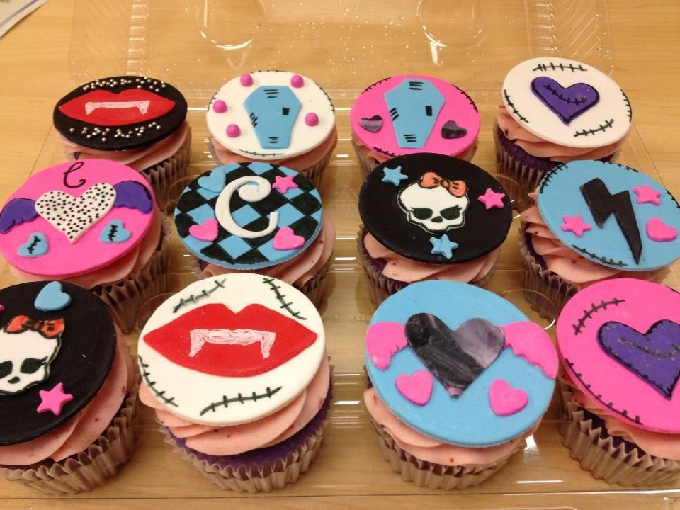 Monster High Cake Cupcakes Monster High Cakes Monster High