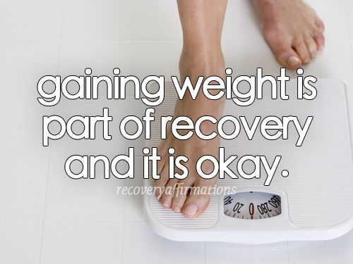 Gaining weight in recovery is safe and necessary. It's time to stop fighting your body. It knows exactly what to do. Nourish it, and it will take care of the rest. #EDrecovery #selflove #eatingdisorders