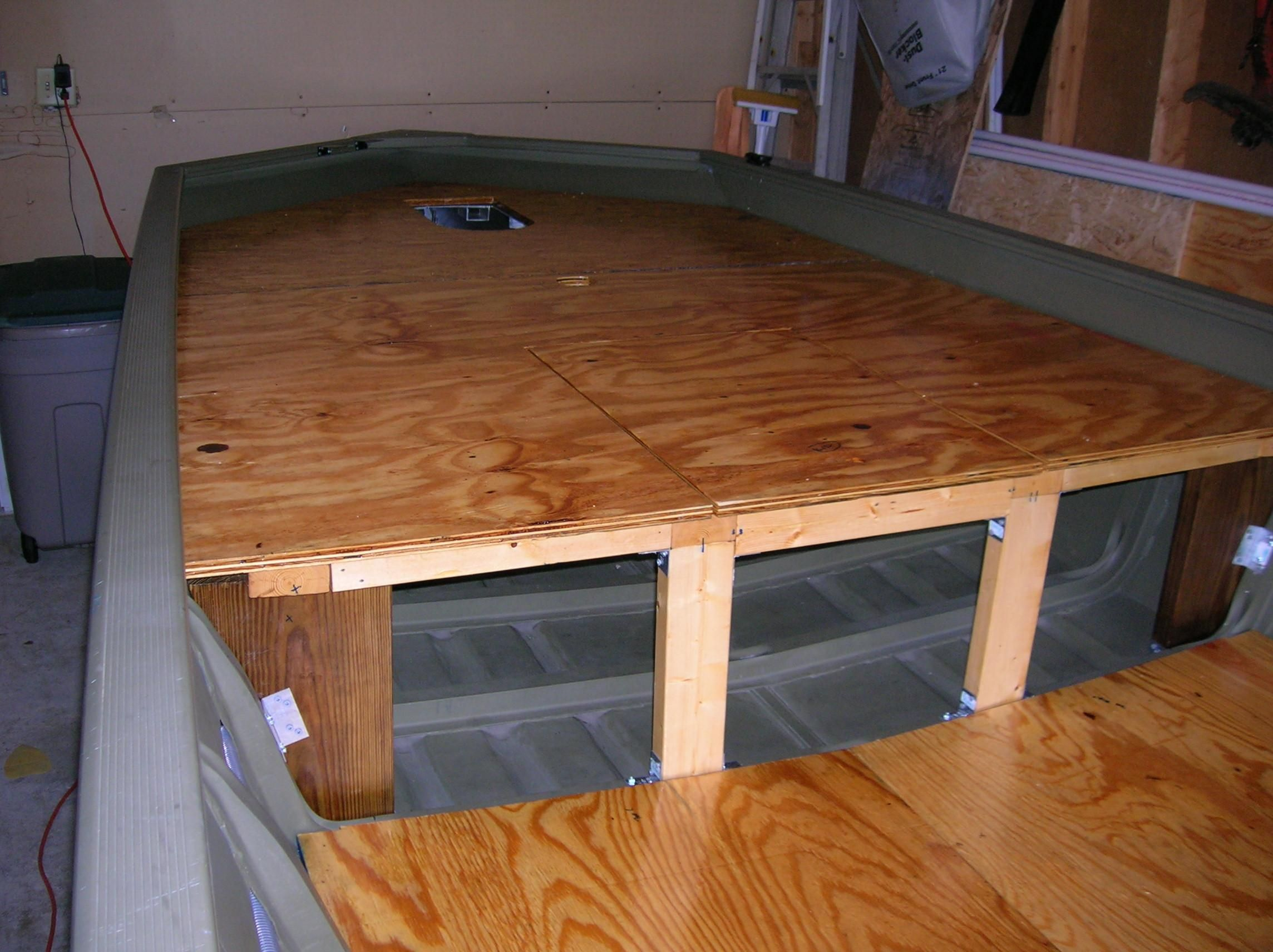 Photo : Bowfishing Deck Plans Images. Deck Design Ideas And Pictures Diy How To Build A 10 . Big ...
