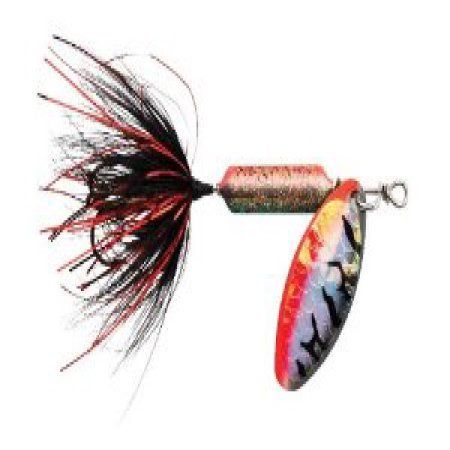 Wordens Rooster Tail Lure, 1/16-Ounce, Tinsel Nightmare Tiger Multi-Colored, Multicolor