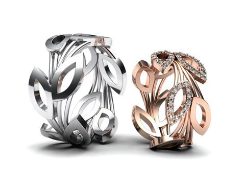 Designove Snubni Prsteny Ktere Jsme Navrhovali Na Prani Pro Naseho