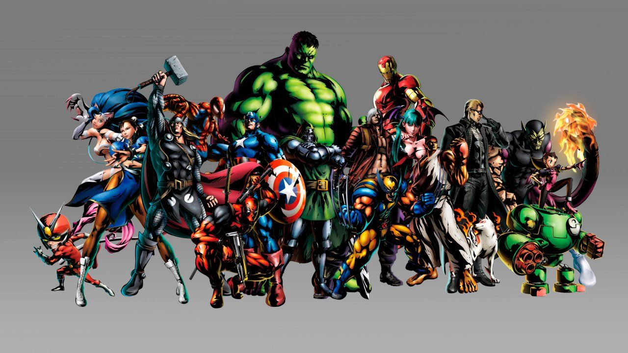 marvel vs capcom by shinkiro video games pinterest marvel wallpapers street fighter png capcom wiki marvel vs darkstalkers and voltagebd Images