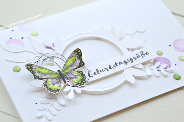 Die Sale-a-bration - die Schmetterlinge sind los! #20thanniversarywedding