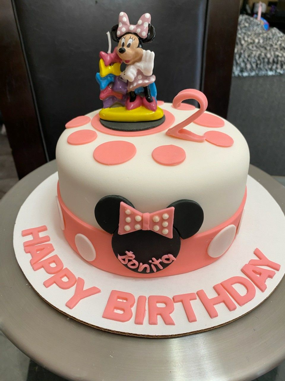 Pin On 2 Year Old Girl Birthday Cake Ideas