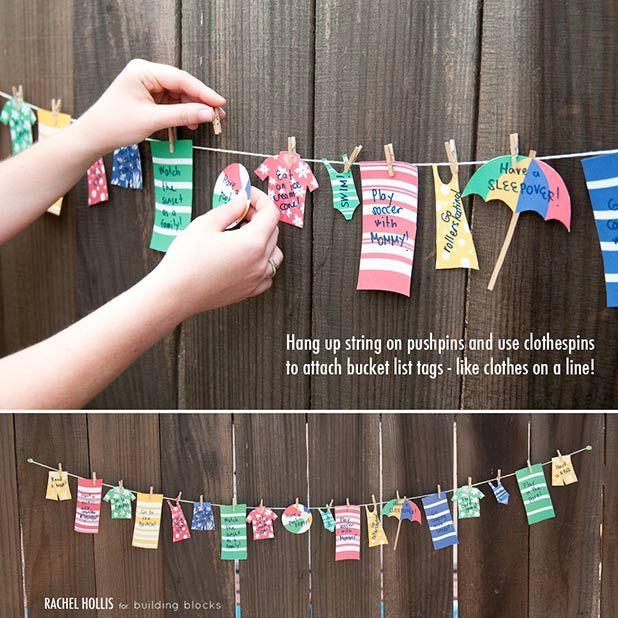 Pottery Barn Kids Clothing Line: Summer Bucket Lists, Pottery Barn