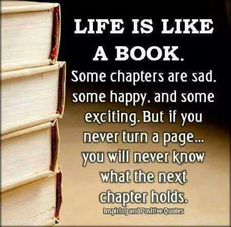 I love reading books, you enter another world!