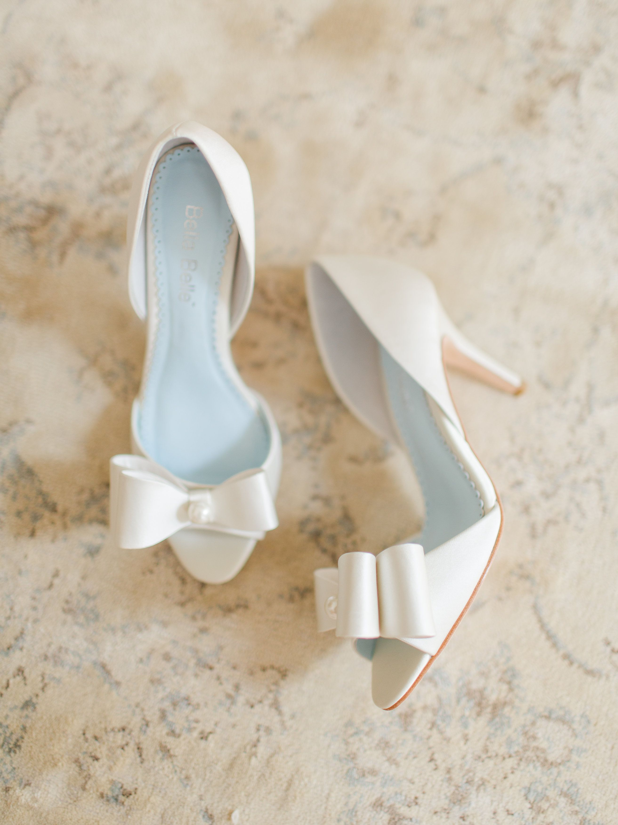 Bella Belle Bridal Shoes Wedding Shoes Ivory Wedding Shoes Bride Shoes