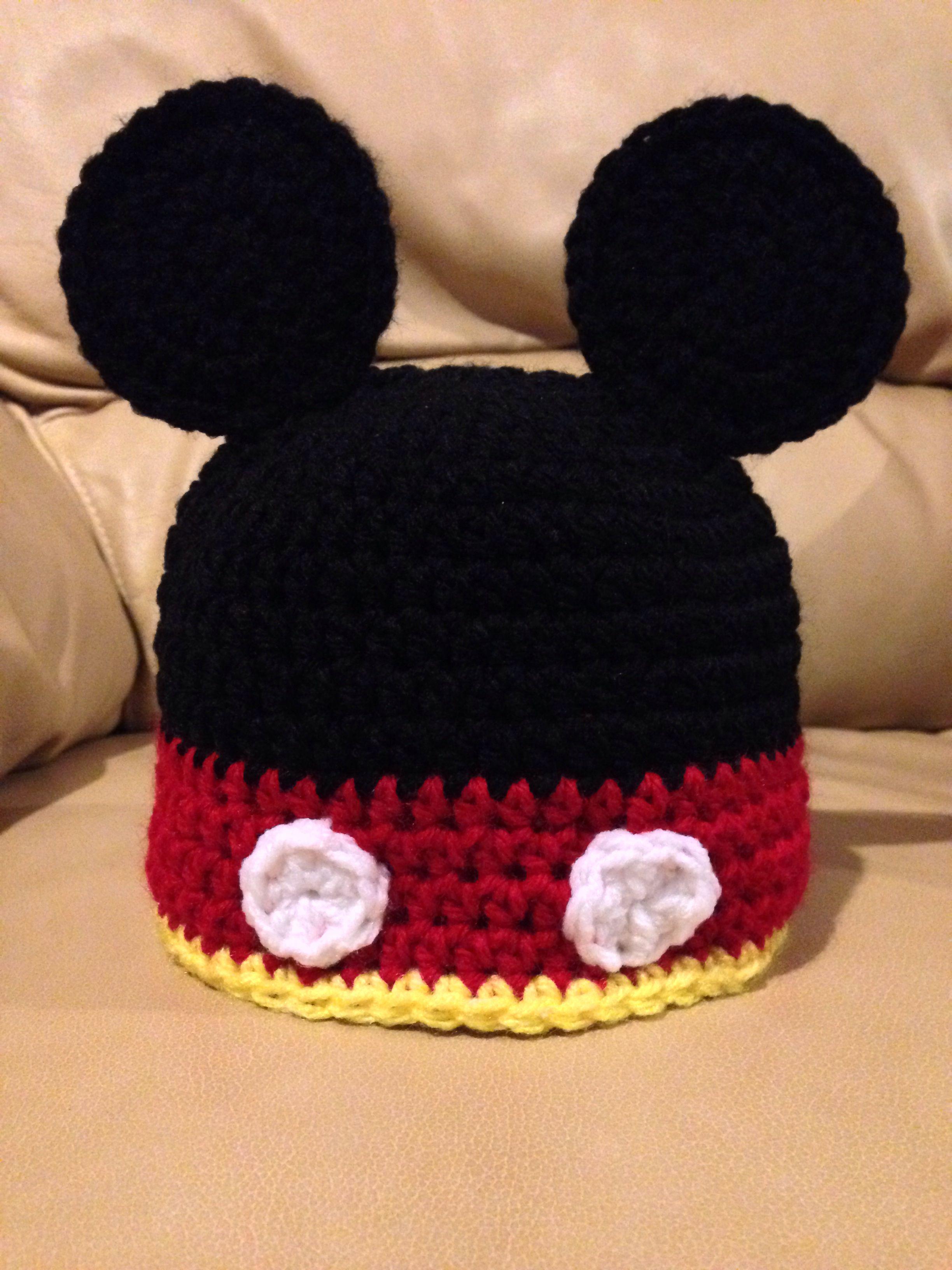 Mickey hat https://www.facebook.com/KatfishcokeHandmadeCrochet