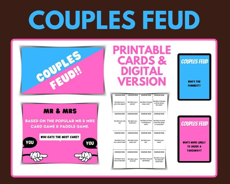 Date night couples games printable games for couples mr