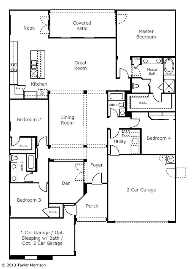 Taylor Morrison Adelaide Perfection Floor Plans
