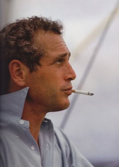 Paul Newman . . . I am almost certain that I would have allowed this man to blow second hand smoke directly in my face.  And I would have liked it.  I'm just sayin'