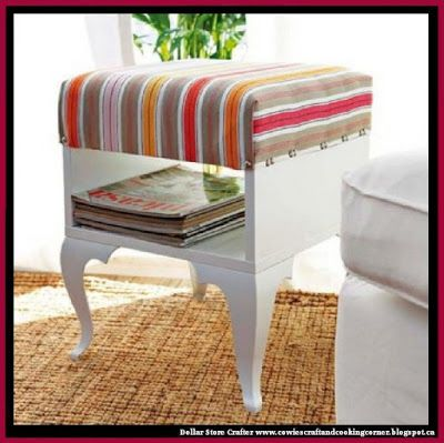 Dollar Store Crafter: Turn An IKEA Trolsta Table Into A
