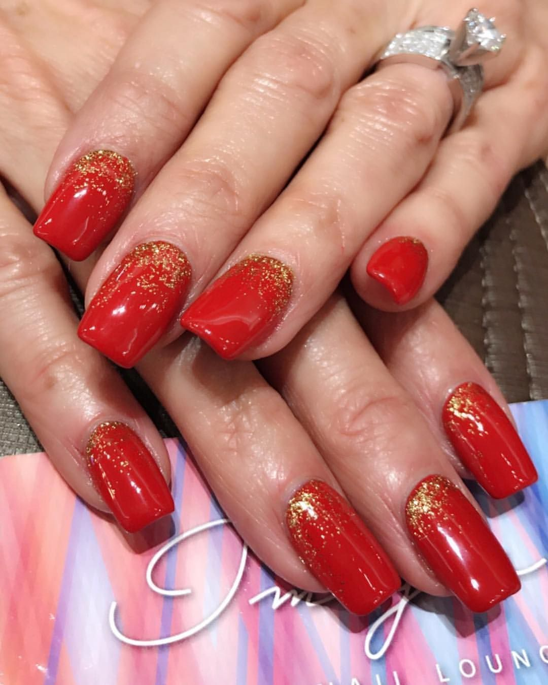 Get your nails ready for Valentine's Day! Next week is the last week to take advantage of free gel offer. Visit our website for more details. #nails #nailart #nailsalon #fashion #nailswag #rednails #valentinesday #valentinesdaynails