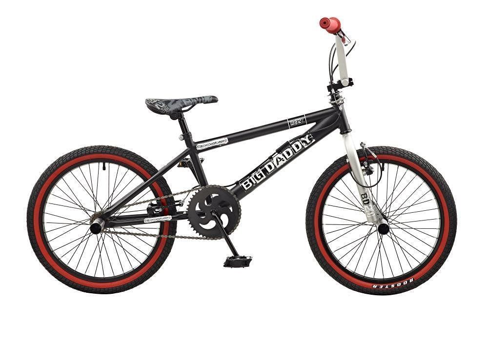 """New 2016 Rooster Big Daddy Kids 20"""" Wheel Freestyle BMX"""