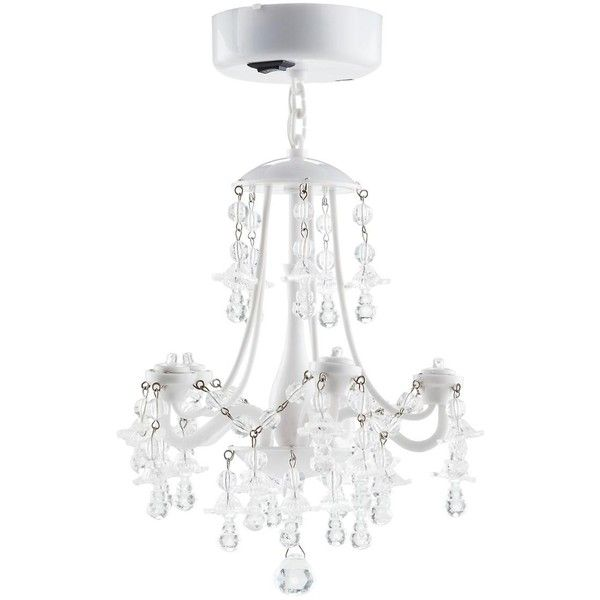 White Locker Chandelier 13 Liked On Polyvore Featuring Home Lighting Ceiling