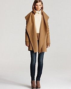 Vince camel coat. This is so classy but would go great with edgy leather  pants