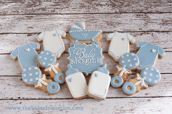 Baby Shower Cookies The Baked Equation Phoenix
