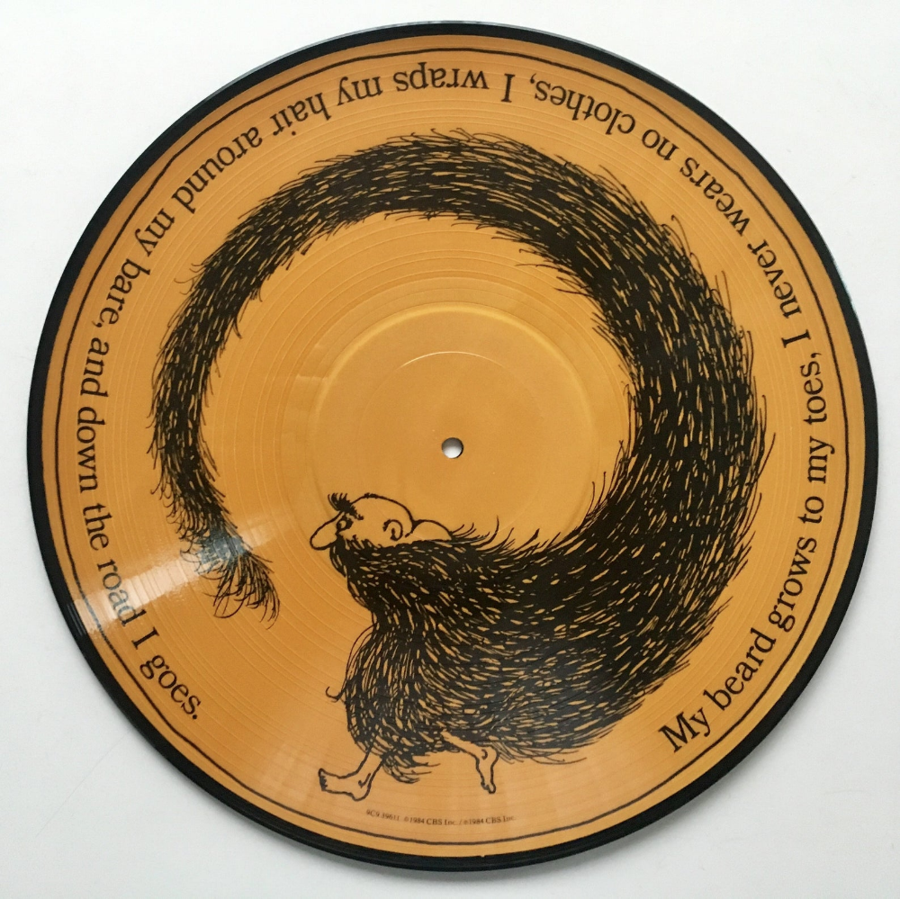 Shel Silverstein Where The Sidewalk Ends Picture Disc Lp Vinyl Record Album Columbia 9c9 39611 Poetry Story 1984 Original Pressing In 2020 Where The Sidewalk Ends Vintage Vinyl Records Vinyl Records